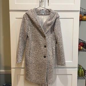 Cole Haan Women's Wool coat with hood, size 4